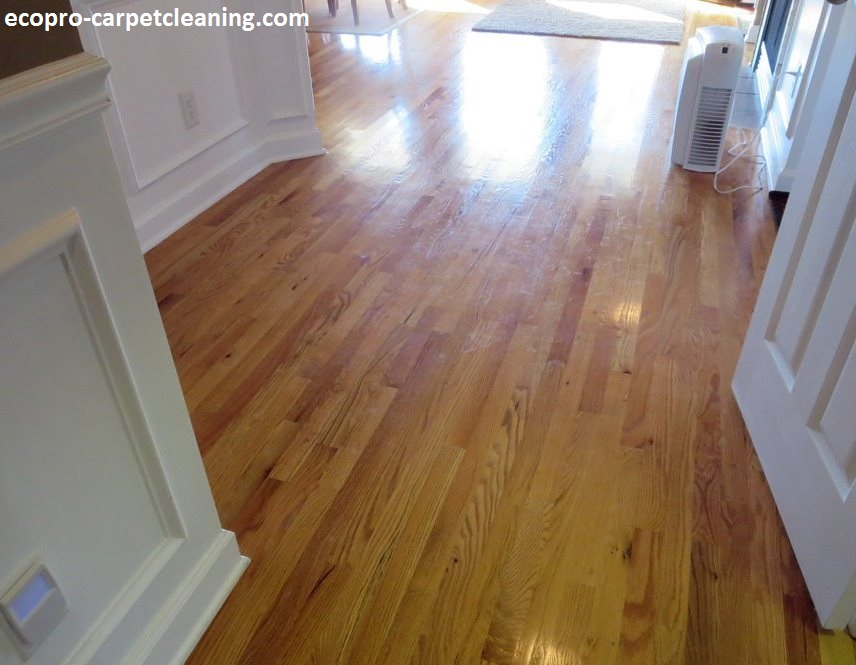 Hardwood cleaning ecopro carpetcleaning for Hardwood flooring service